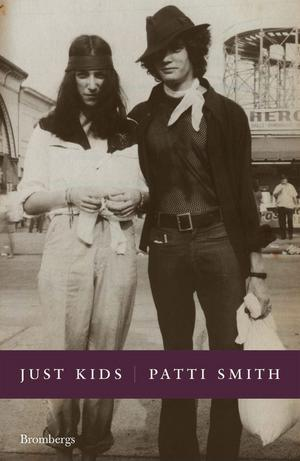 Just kids av Patti Smith. Foto: Brombergs förlag