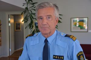 Börje Öhman, informationsansvarig, Polisen.