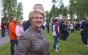 Barbro Långström åkte från Glöte för att se Jon Henrik i Hede.