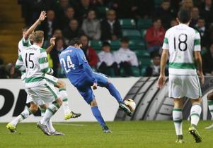 Mohamed Elyounoussi gjorde ett av målen när Molde slog Celtic.
