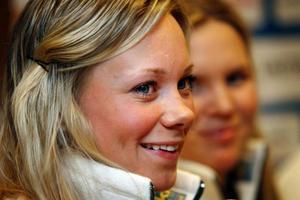 Frida Hansdotter är i Åre för att ta sin andra raka pallplats.Foto: Denny Calvo