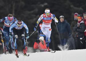 Stina Nilsson stark ända fram till finalen.