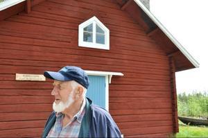 Börje Nilsson är en av de få sista flottarna i Härjedalen och vill att fler ska få reda på historien bakom flottningen i Linsell.
