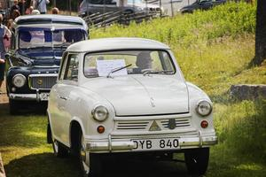 Priset för den gulligaste veteranbilen gick till Hasse Siggstedt för hans Lloyd 400 från 1955.