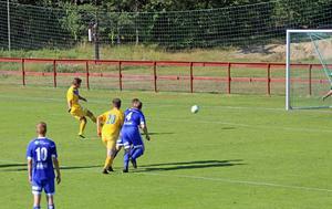 Andreas Svensson kvitterade till 1–1 på straff
