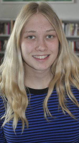 Jessica Persson, 20, Ljusdal:– Jag skulle vilja få godis och pengar i mitt påskägg.