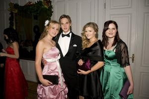 Julia Wildfors, Niclas Lifvenborg, Caroline Holm och Mia Sandström.
