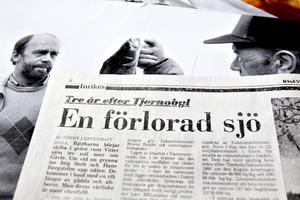 Stig Stolt har samlat klipp och bilder som berättar om följderna av nedfallet.