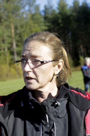 Anneli Hultman, ordförande i Svenska Schäferhundsklubben.