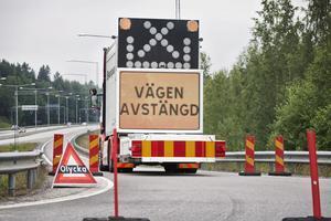 Olyckan på motorvägsbron fick stora konsekvenser.