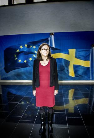 EU-kommissionens handelsansvariga Cecilia Malmström