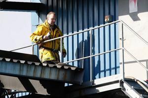 Lars Stugård, styrkeledare räddningstjänsten Stugun, var den som larmade SOS Alarm i går.