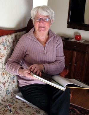 Inga Backman, 80 år.