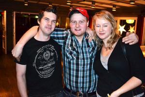 Anders Nylander, Leif Svensson och Annika Olsson.