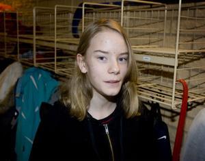 – Den är ganska tråkig. Jag gillar den inte så mycket. Förra årets var bättre.Maria Hellzén, 12 år, Granloholm.