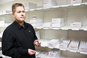 Sven Backlunds företag är en av Sveriges största leverantörer av homeopatiska läkemedel.