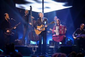 Tomas Ledin från sitt framträdande på Melodifestivalen 2014.