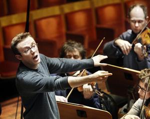 Dirigenten Daniel Harding.