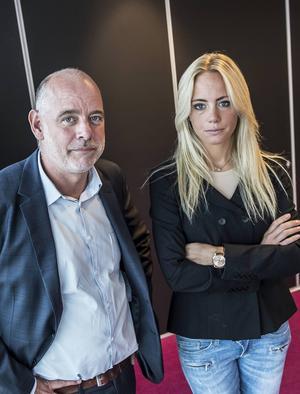 Carolina Neurath och Jan Almgren.