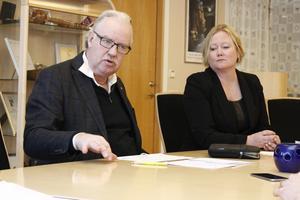 Vi tycker att det är väldigt kul att Olle Jansson och Ulrika Falk inte tycker att det är tillräckligt med allianspolitik. Vi ska försöka driva ännu mer sådan, skriver Bino Drummond, Robert Beronius, Anders Olander och Göte Vaara. Foto: Viktor Drangnell Ek.