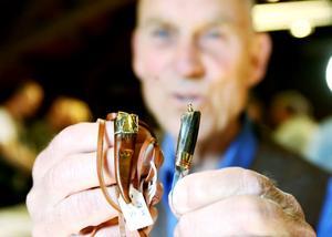 Roger Frisk från Söderhamn vann första pris i miniatyrklassen.