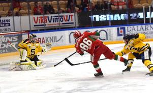 Moras Mathias Bromé hittade målet mot Södertälje.