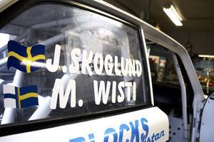 ny kombination. Mikael Wisti och Jan Skoglund har bara kört med varandra i drygt två år.