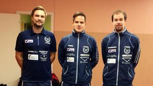 Jim Hagblad, Samuel Boman och Axel Abrahamsson