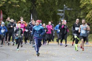 Starten gick vid Vasaparken i Västerås.