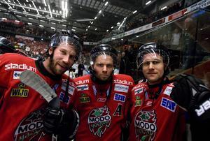 Comeback med Niklas Sundström och Markus Näslund in för ett fullsatt Fjällräven Center.
