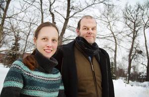 Flavia Devonas och Andreas Hoffman från Härjedalens kulturcentrum.