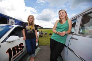 Anna och Nelly Nygaard är bara två av familjens farttokiga medlemmar. Både pappa och lillasyster kör också.