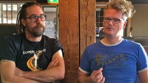 Per Granberg och Erik Ullvin är överens om att punk inte är en musikstil, utan mer en attityd och ett sätt att göra saker.