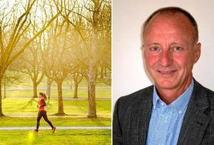 Motion och allmän hälsa har blivit en allt viktigare pusselbit inom ungdomspsykiatrin, berättar överläkare Lennart Eriksson på barn- och ungdomspsykiatrin.
