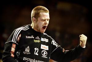 Richard Larsson från Sala spelar på lördag SM-final i handboll. Foto: Kicki Nilsson