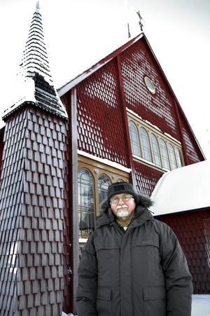 Willy Ekström lämnar Ljusnarsbergs församling sista april. Han blir pensionär men fortsätter ändå att arbeta, i hemförsamlingen Norrbärke. ARKIVBILD: ANNIKA NYGREN-BERG