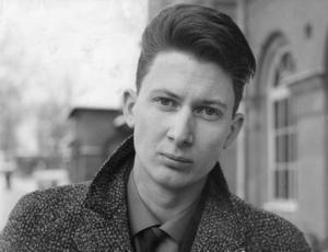 1963. Den unge P O Enquist porträtterad.