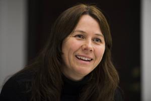 Klimat- och miljöminister Åsa Romson (MP) besöker Härnösand.