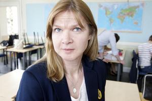 Eftersom Anna Wallin sysslar med siffror dagligen såg hon det som självklart att anmäla sig som volontär på Mattecentrum.