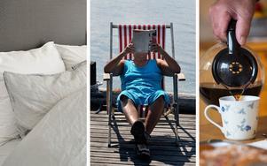 En skön kudde, en bra bok och gott kaffe. Kanske är det allt som behövs för en skön semster.