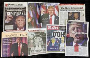 Brittiska tidningsreaktioner efter valet.