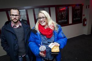 Patrik Allansson-Roos och Sofia Rådman såg fram emot att få se Mikael Persbrandt som Hamilton.