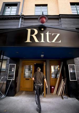 Nattklubben Ritz i Örebro.