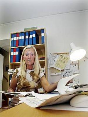 Arkivbild Anstränd revisor. Birgittha Bjerkén tycker inte att samarbetsviljan hos ungdomsförbundet är tillfredsställande.