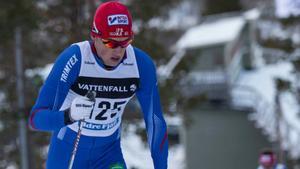Anders Solin i IFK Mora hoppar av SM.