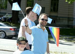 Moderata oppositionsrådet Jörgen Berglund var glad.