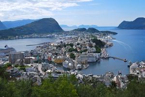 Var i Ålesund för andra gången och tycker det är Norges finaste stad