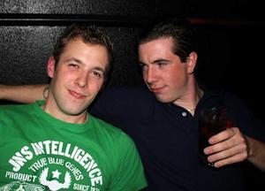 Blue Moon Bar. Jimmy och Jimmy