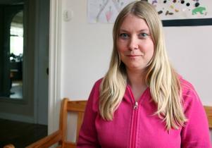Rose-Marie Persson var den som larmade om att det brann på ICA Kvantum i Kvissleby.