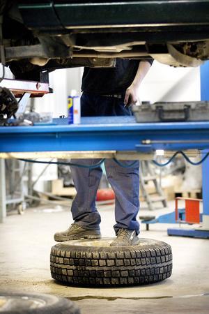 Fordon- och transport verkar vara en säker grund att stå på inför yrkeslivet.